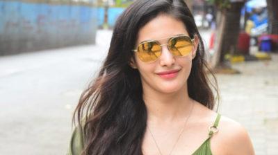 Mumbai: Actress Amyra Dastur seen at Bandra in Mumbai on Oct 5, 2020. (Photo: IANS)