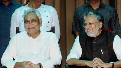 Nitish admits he is missing Sushil Kumar Modi in new cabinet