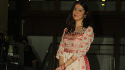 Mumbai: Actress Divya Khosla Kumar seen at Vile Parle in Mumbai on Oct 3, 2020. (Photo: IANS)