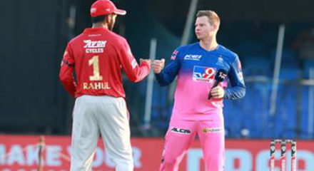 RR win toss, choose to bowl against KXIP