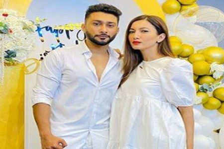 Gauahar Khan calls rumoured boyfriend Zaid Darbar 'the bestest'