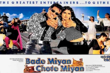 When Raveena shared lunch with Big B, Govinda