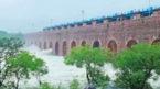 Hyderabad's Purnapul across swollen Musi river shut