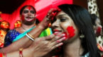 No 'Dhunuchi naach', no 'Sindur-khela' for Sonagachi sex workers this year