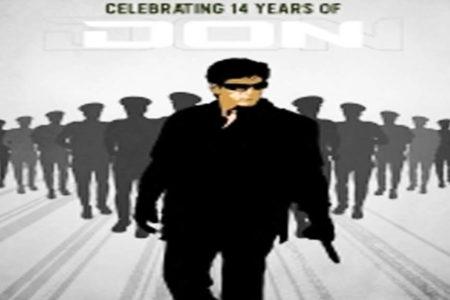 SRK-starrer Don clocks 14 years