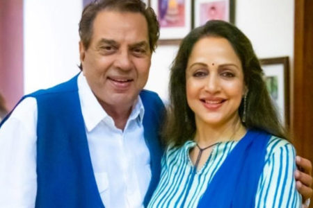Hema Malini and Dharmendra are grandparents again