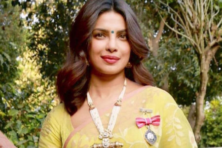 Priyanka Chopra Jonas recalls being feted with Padma Shri
