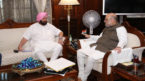 Shah-Amarinder meet on farmers' issue