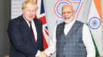 PM Modi talks with UK Prime Minister Boris Johnson