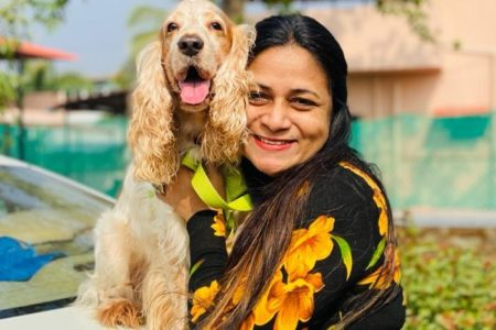 Prem Bandhan actress Utkarsha Naik helps animals in need