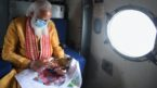 PM undertakes aerial survey of cyclone affected areas in Odisha and West Bengal