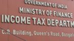 Income Tax Department conducts searches in Raipur