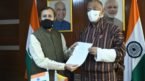 India and Bhutan sign MOU for developing cooperation in the areas of Environment