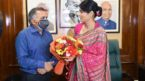 Anupriya takes charge as Minister of State of Commerce and Industry